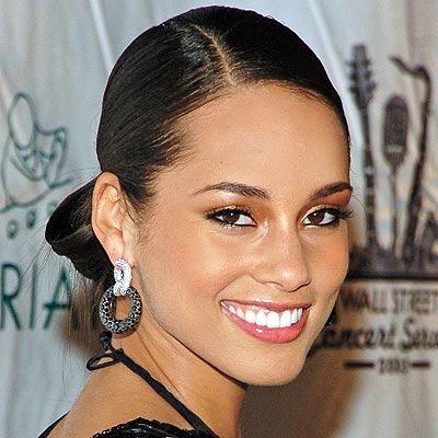 Alicia Keys Snapchat Photo