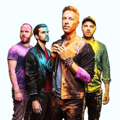 Coldplay Snapchat Photo