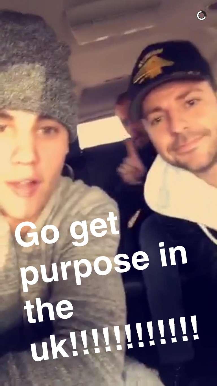 Go get Justin Bieber's album Purpose in the UK ‼️
