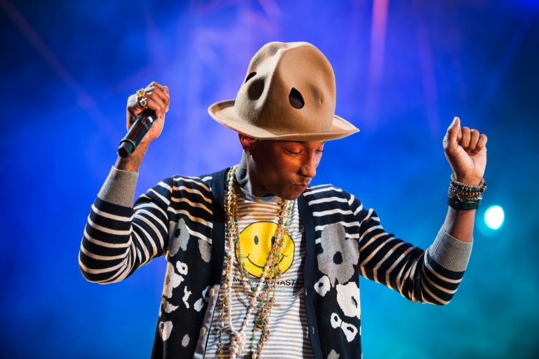 What is Pharrell Williams snapchat username? Tnx!