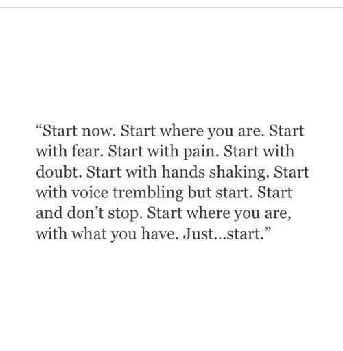 #StartNow