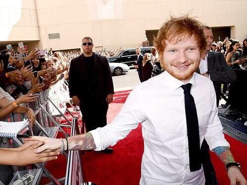 Ed Sheeran on Billboard Music Awards 2015