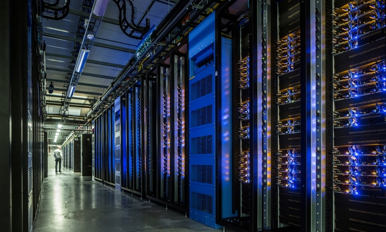 Take a Look Inside Facebook's Swedish Data Center Near the Arctic Circle