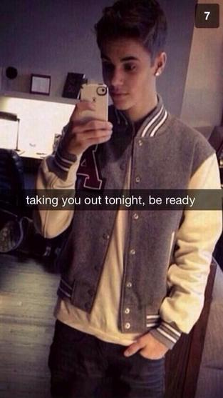 #JustinBieber Snapchat!