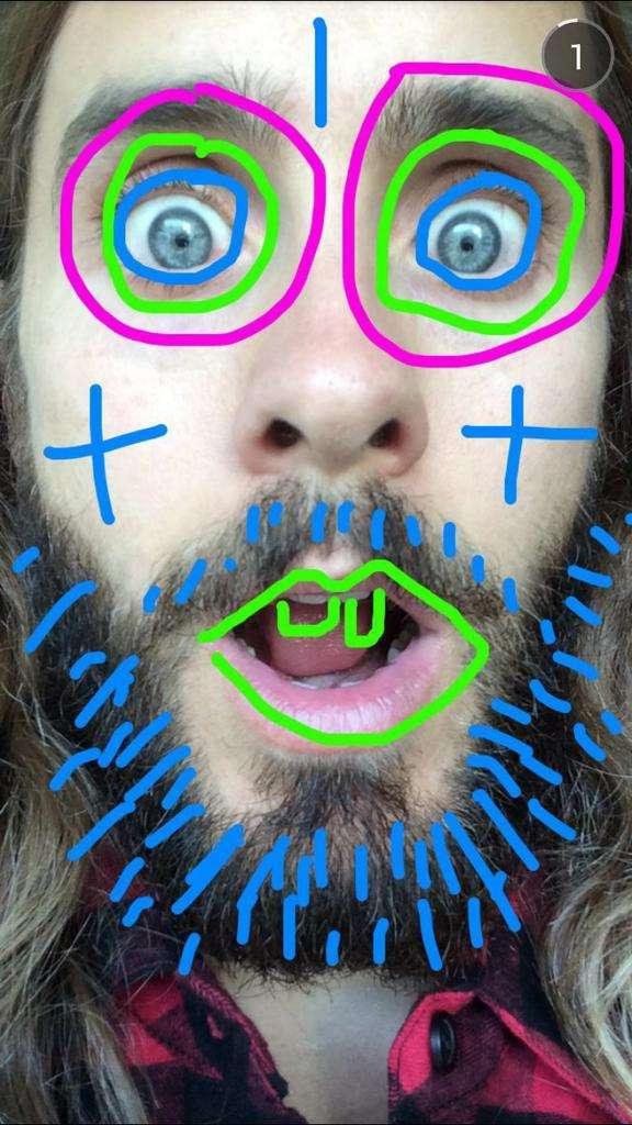 Jared Leto snapchat @jaredleto #celeb
