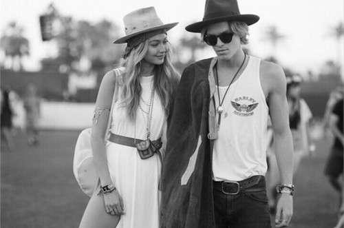 Gigi Hadid + Cody Simpson = #Coachella