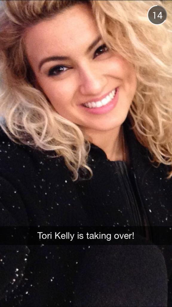 Tori Kelly Snapchat Username @koritelly