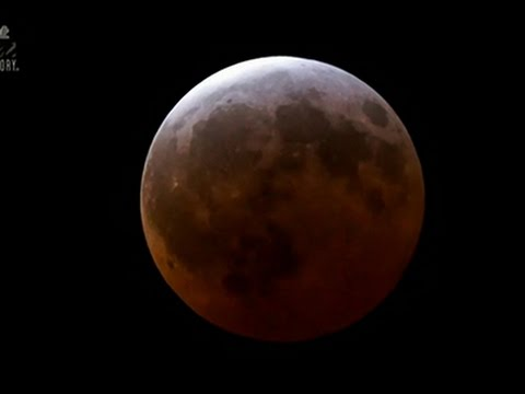 Spectacular Video Time-lapse Of 'Blood Moon', A Total Lunar Eclipse
