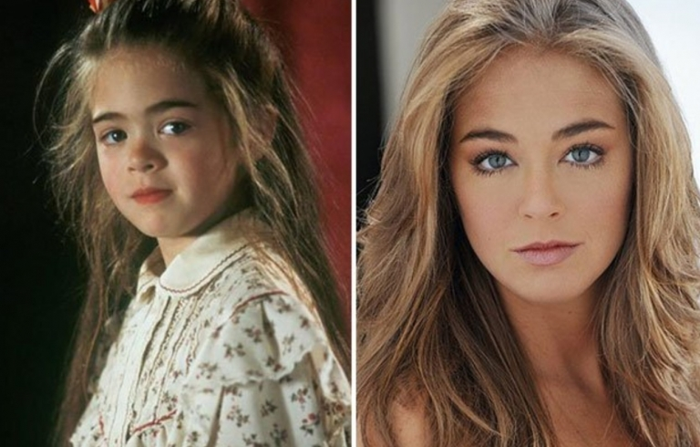 That little girl from Hook grew up to be a beautiful woman