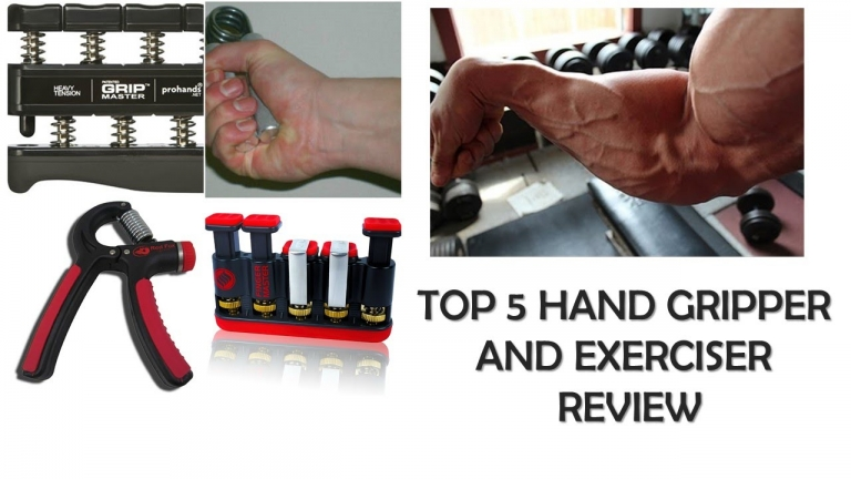 Top 5 Hand Grippers and Exercisers Review