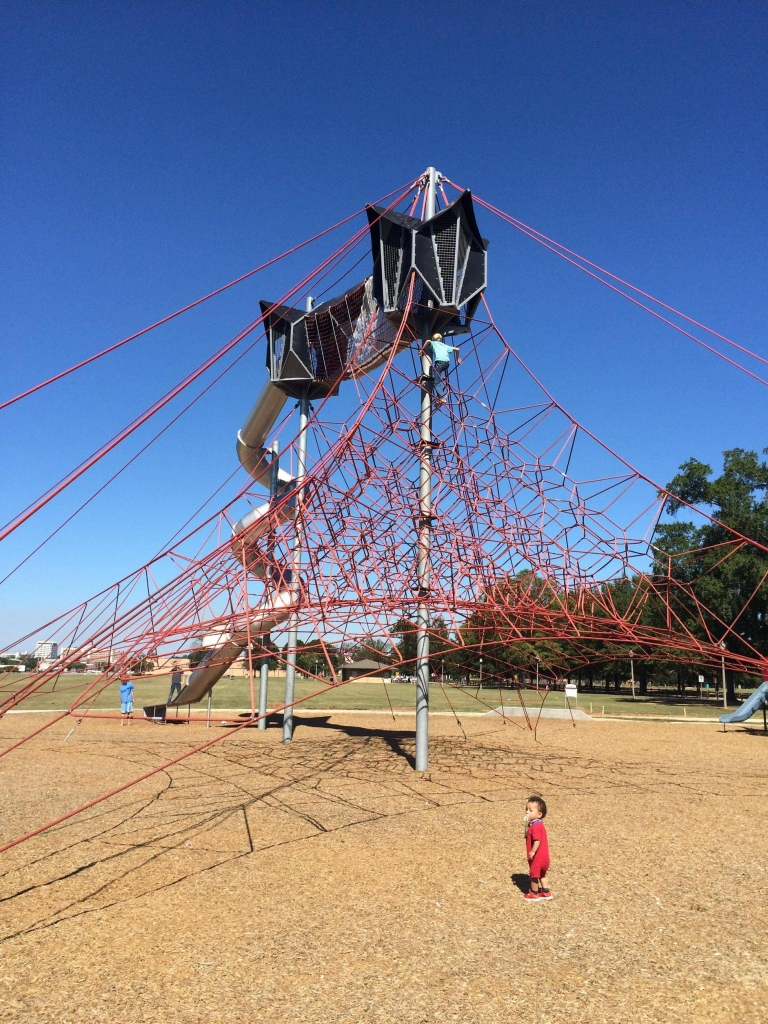 This is the coolest playground I've seen...