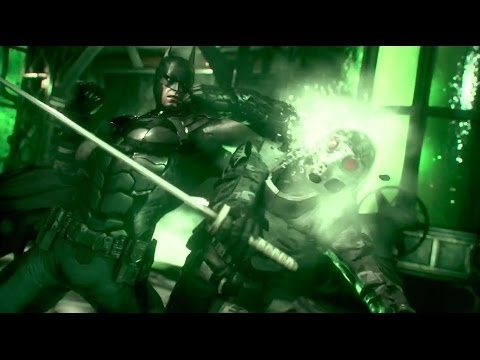 Batman: Arkham Knight - Ace Chemicals Infiltration Trailer: Part 3 - PlayStation Experience 2014