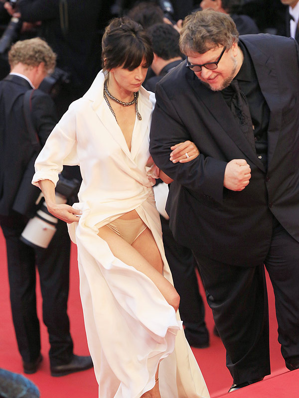Cannes 2015: French Actress Sophie Marceau Flashes Underwear