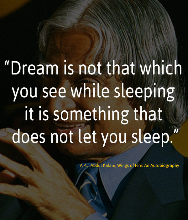 #Dream does not let you sleep...