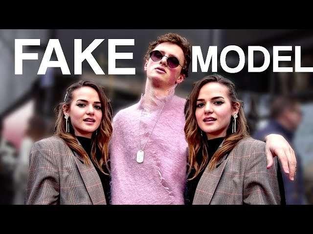 These guys created a fake a male model and made it to the top of London fashion week. 🤣 #BestOfYouTube #LondonFashionWeek