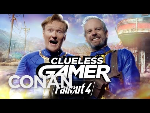 "#CluelessGamer: Conan Plays ""Fallout 4"""