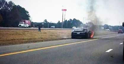 Third #Tesla Caught On Fire