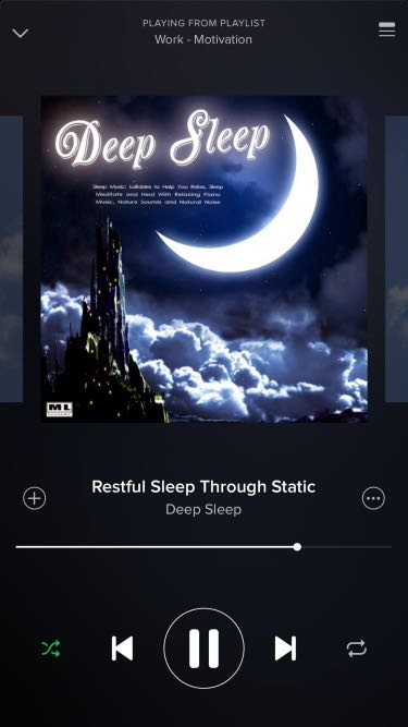 Work Motivation playlist on #Spotify will help you fall to sleep