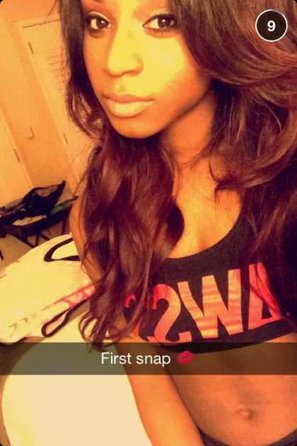 Fifth Harmony: Normani Hamilton Snapchat @moniloves31