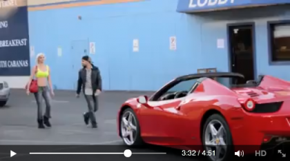 Picking Up Women with a 2013 #Ferrari Italia 458