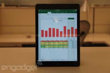 #Office for #iPad review: three beautiful apps, each with strong competition