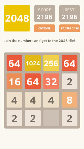 #2048: The simple #puzzle game that's very addicting