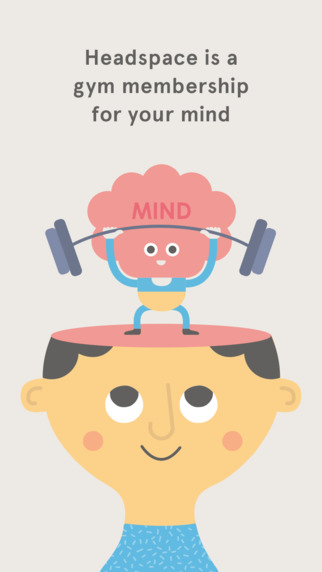 #HealthAndFitness: Headspace: Meditation techniques for mindfulness, stress relief & peace of mind