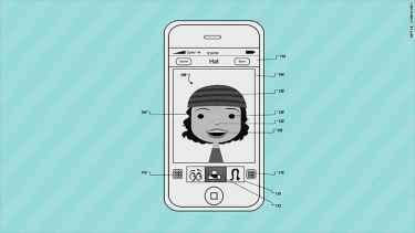 Apple's new avatar patent looks a lot like Bitmoji