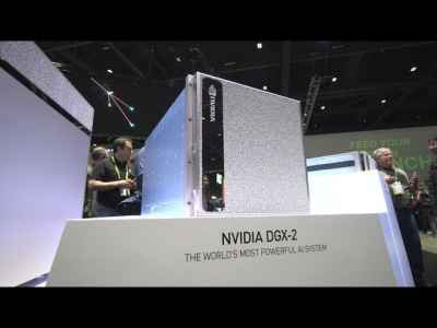 Discover the World's Largest GPU: NVIDIA DGX-2 #AI #DeepLearning