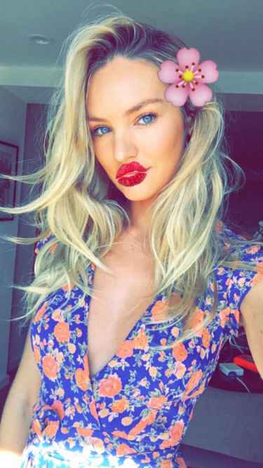 Candice Swanepoel Snapchat Username @candyswan
