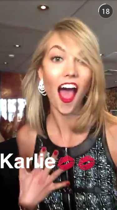 Karlie Kloss Snapchat Username @karliekloss