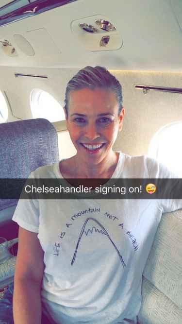 Chelsea Handler Snapchat Username @chelseahandler