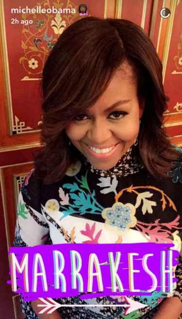 First Lady Michelle Obama Snapchat Username @michelleobama