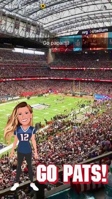 Gisele Bundchen celebrates Tom Brady's 5th Super Bowl Championship! @Gisele