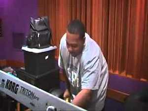 Jay-Z & Timbaland in STUDIO - Hot session... if I could just create beats like that I would be rich! #music