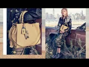Chloë Grace Moretz For Coach New York Spring 2017 Collection