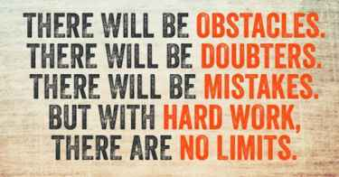 With hard work, there are no limits... #MondayMotivation #NoLimits