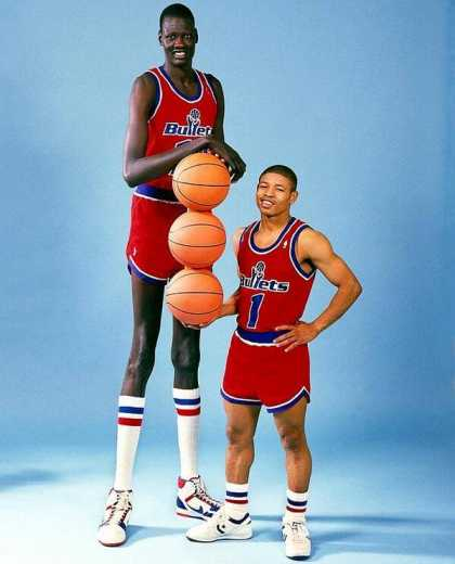 Tallest and Shortest #NBA player