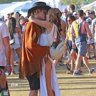 Gigi Hadid and Cody Simpson PDA in Coachella 2015!!