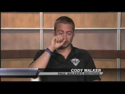 Heartbreaking interview of Cody Walker who talked about his brother, Paul Walker
