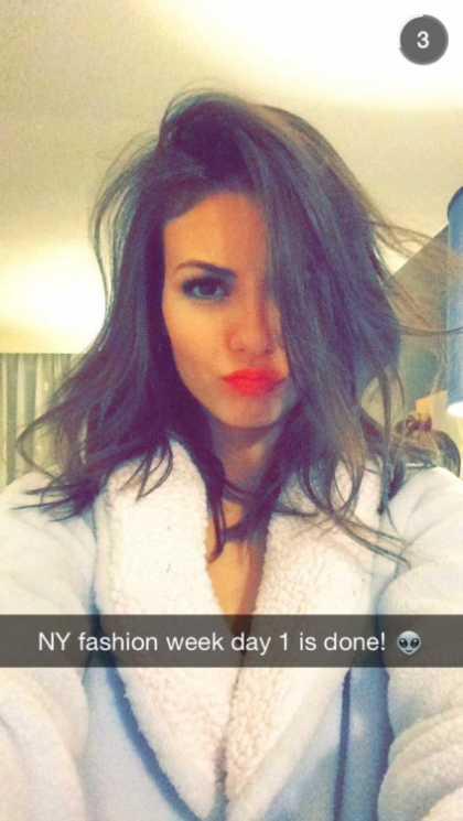 Victoria Justice Snapchat @victoriajustice