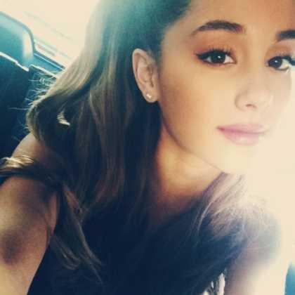 Ariana Grande Snapchat @moonlightbae