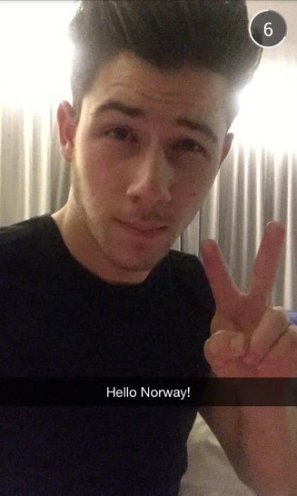 Nick Jonas Snapchat Username @JickNonas
