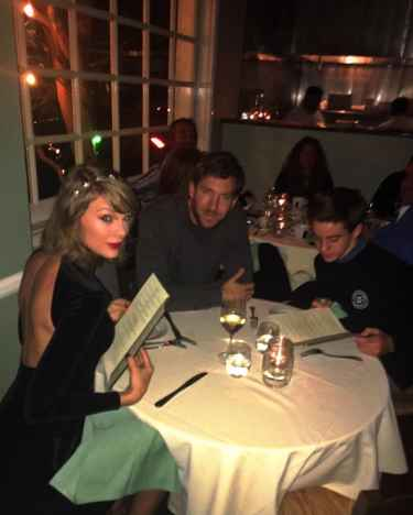 Brave Kid Crashed Taylor Swift and Calvin Harris' Dinner Date and Posted on Instagram