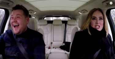 Adele Raps Nicki Minaj's 'Monster' on Carpool with James Corden