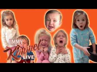 Jimmy Kimmel's YouTube Challenge - 'I Told My Kids I Ate All Their Halloween Candy' 2016