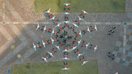 OK Go - I Won't Let You Down - Amazing Single Sequence Music Video Shot Using A Drone