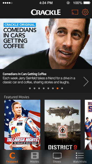 #Entertainment: Crackle - Free Movies & TV On Your iPhone