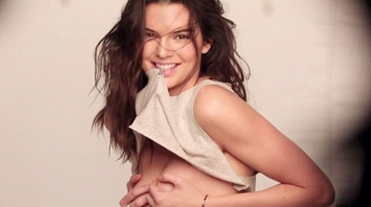 Kendall Jenner uncovers her body on this newly released sexy GQ video!