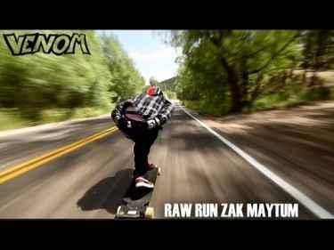 Zak Maytum Reaches 70 mph on a Longboard Down Colorado Road
